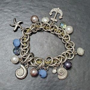 Jewelry - Ocean themed charm bracelet